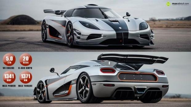 Dünyanın en süper otomobili: Koenigsegg One:1