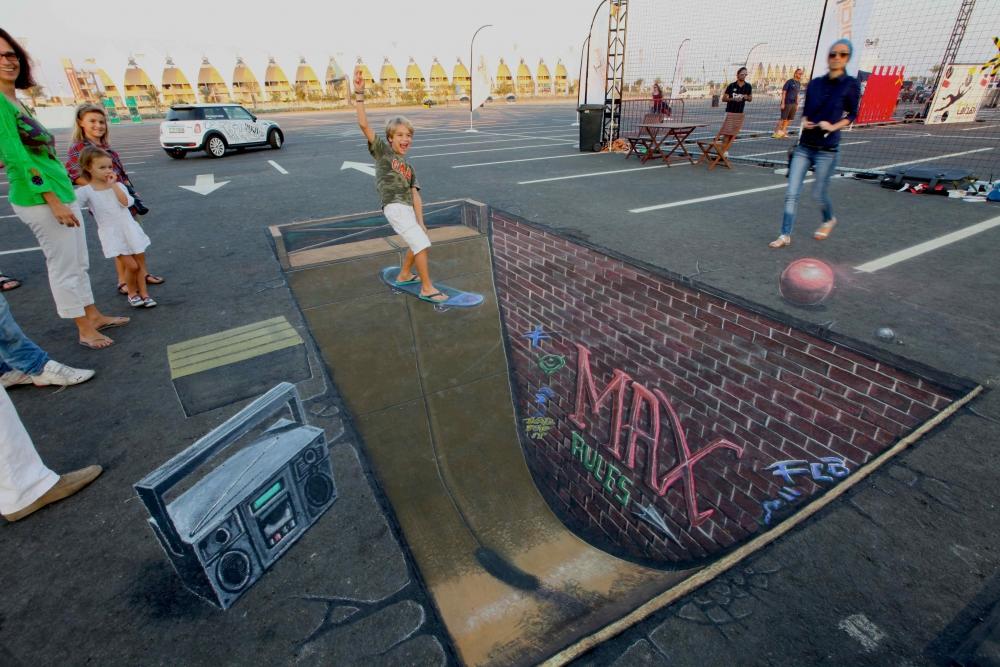 3D Sokak Sanatı