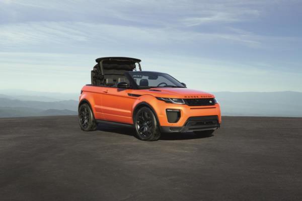 Range  Rover Evoque Üstü Açık