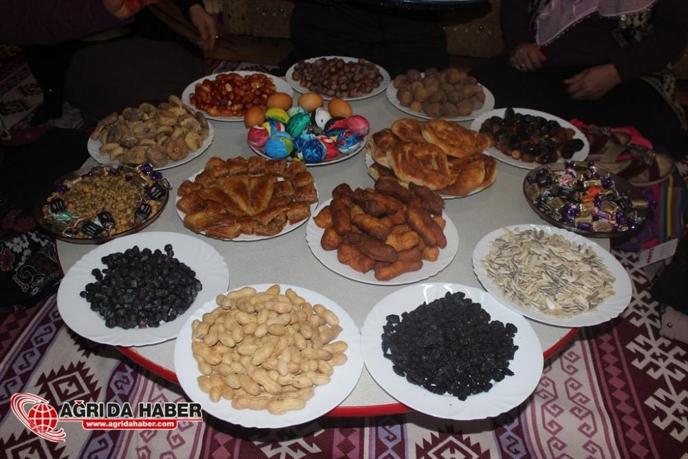 Ağrı'da asırlardır süren nevruz geleneği: 'yeddi levin'