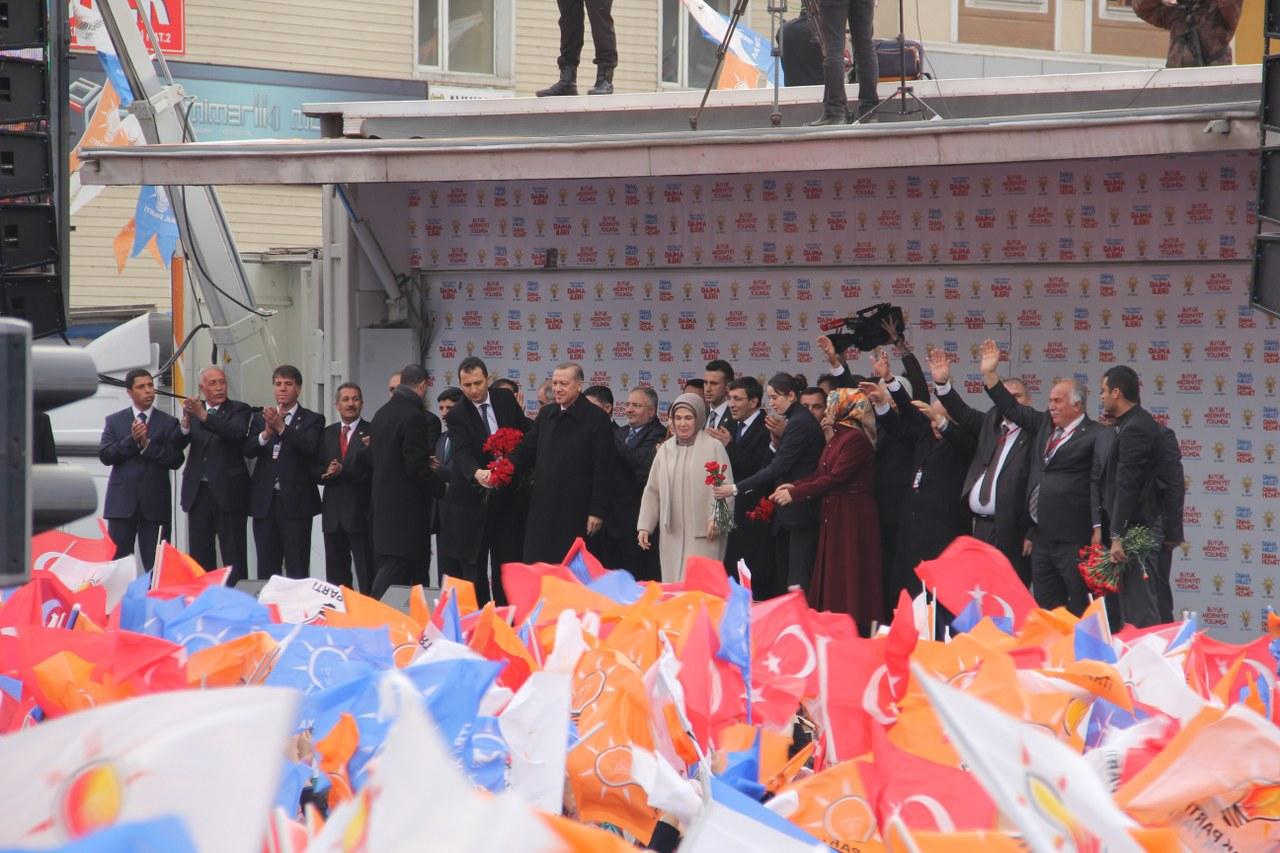Başbakan Recep Tayyip Erdoğan Ağrı'da