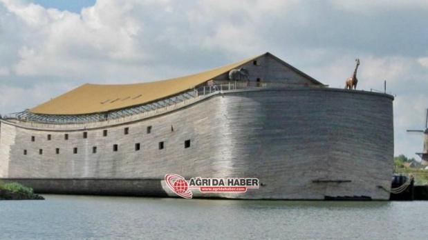 Rüyasında Sel Olacağını Gördü Nuh'un Gemisi Replikası Yaptı