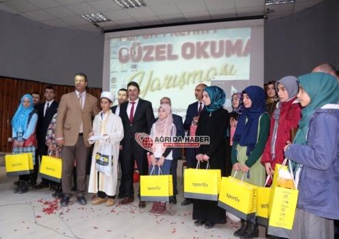 Ağrı İmam-Hatip Ortaokulları Arası Hafızlık Ve Kur'an-ı Kerim'i Yüzünden Güzel Okuma Yarışmaları