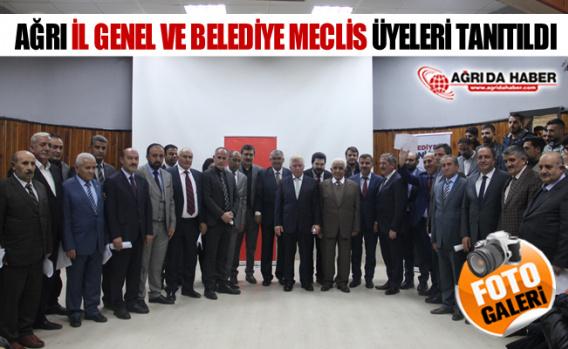 Ağrı AK Parti İl Belediye ve Genel Meclis Üyeleri