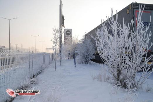 Ağrı Eksi 25 Derece - Kış Manzaraları