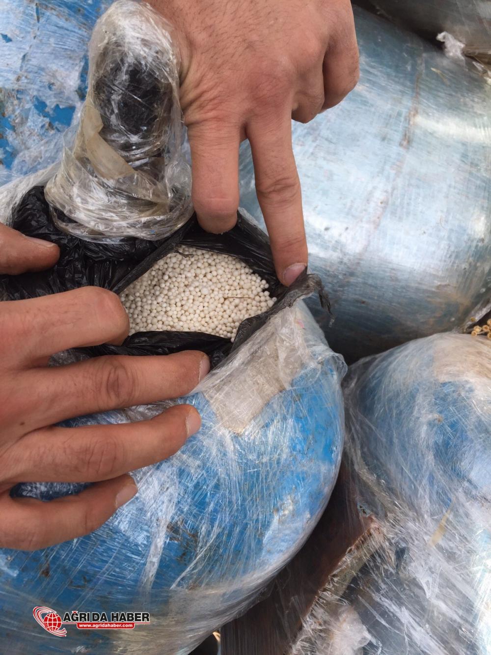 Tendürek Dağında PKK'nın Bomba Ürettiği Merkez İmha Edidi