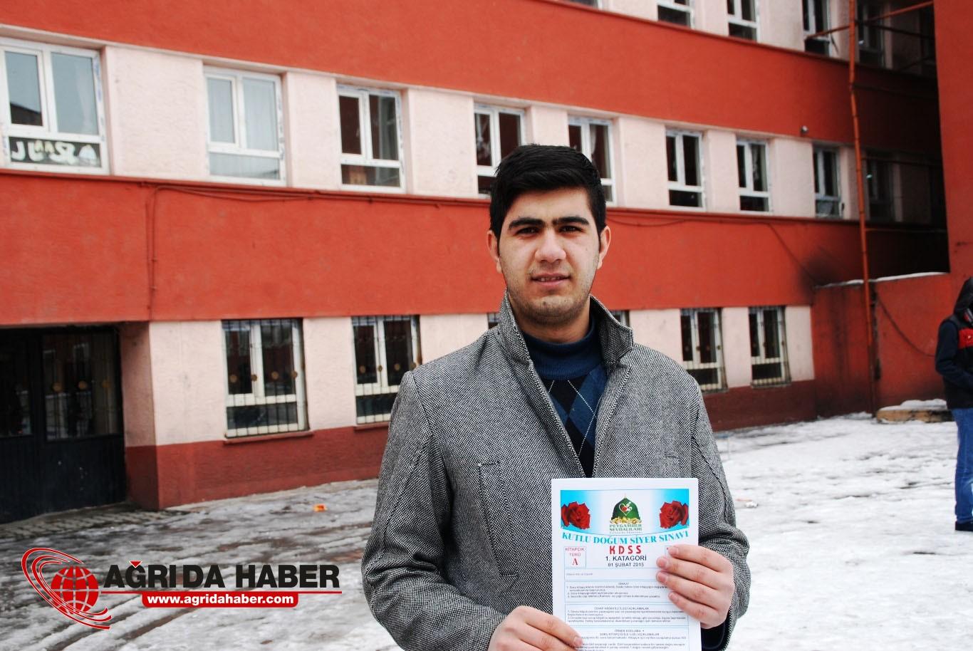 Ağrı'da Siyer Sınavı Gerçekleştirildi
