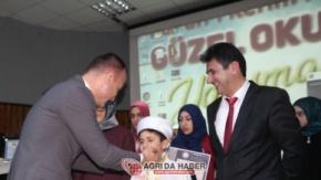 Ağrı İmam-Hatip Ortaokulları Arası Hafızlık Ve Kur#039;an-ı Kerim#039;i Yüzünden Güzel Okuma Yarışmaları