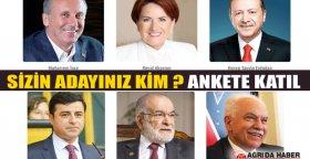 Cumhurbaşkanlığı Seçimlerinde kime Oy verirsin ?