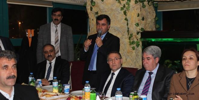 Ak Parti İl Başkan Aydın, Aday Adaylarıyla Yemekte Bir Araya Geldi