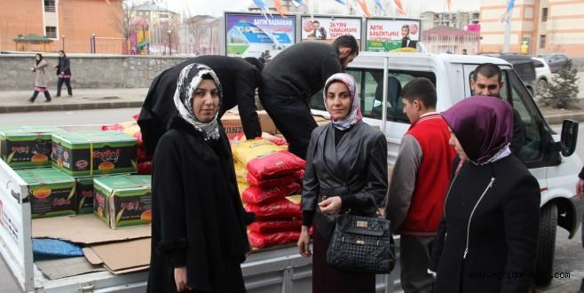 Eğitim-Bir-Sen Ağrı Şubesi Kadın Komisyonundan Suriyeye Anlamlı Yardım