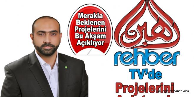 Burhan Aslan bu akşam Rehber Tv'ye çıkıyor