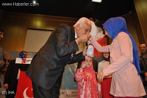 SP Genel Başkanı Kamalak, Amasya'da Adaylarını Tanıttı