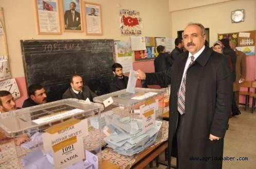 Hasan Arslan'dan Açıklama : üç sandığın sayımı gerçekleştirildi