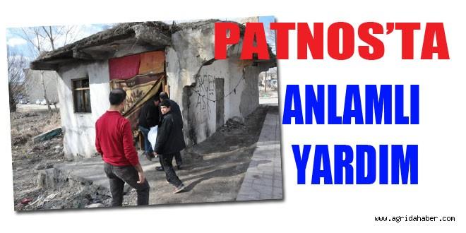 Patnos'ta 'Bir Yardım, Bin Mutluluk' Kampanyası