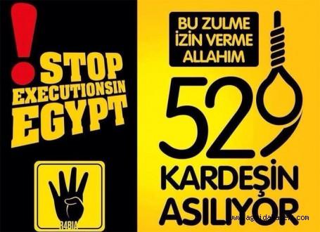 AĞ-SİP Mısırdaki 529 İdam Kararını Protesto Ediyor (DAVET)