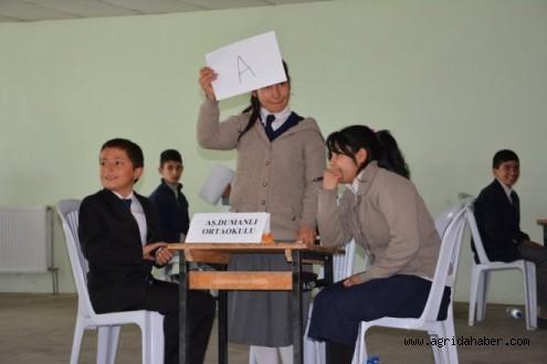 Ağrı'da Okullar Arası Bilgi ve Kültür Yarışması