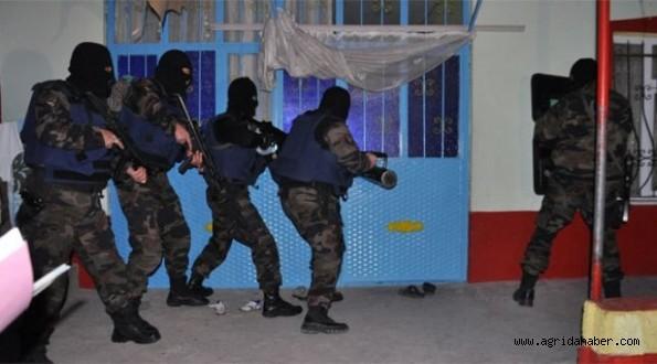 Ağrı'da Terör Operasyonu : 11 gözaltı