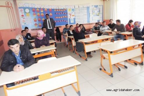 Eleşkirt'teşubat'ta Atanan Öğretmenlere Hazırlayıcı Eğitim Veriliyor