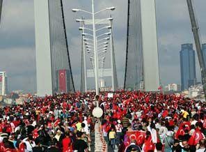 42 kilometrelik Avrasya maratonu başladı / VİDEO