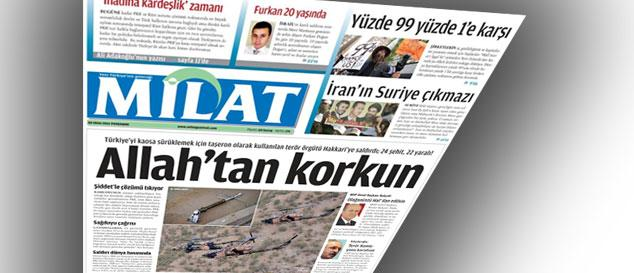 Türkiye yeni gazetesiyle buluştu