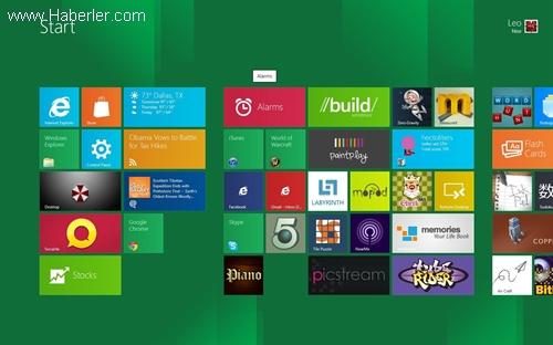 Microsoft Windows 8 Lisans Sayısında 200 Milyonu Geride Bıraktı