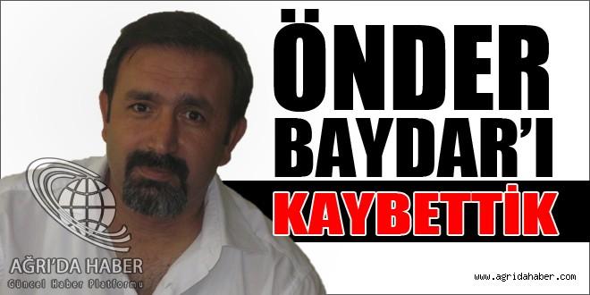Eğitimci ve Sporcu Önder Baydar Hayatını Kaybetti