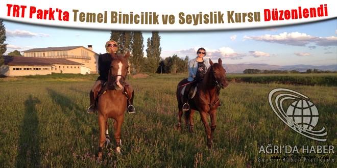 TRT Park'ta Temel Binicilik ve Seyislik Kursu Düzenlendi