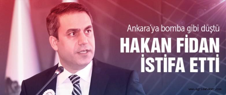 MİT Müsteşarı Hakan Fidan istifa etti