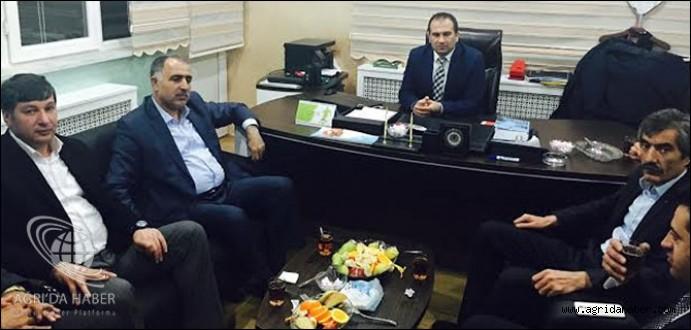 Atso Başkanı Saim Alpaslan'dan Ağrı Askf'ye Ziyaret