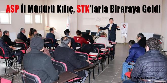 ASP İl Müdürü Kılıç, STK'larla Biraraya Geldi
