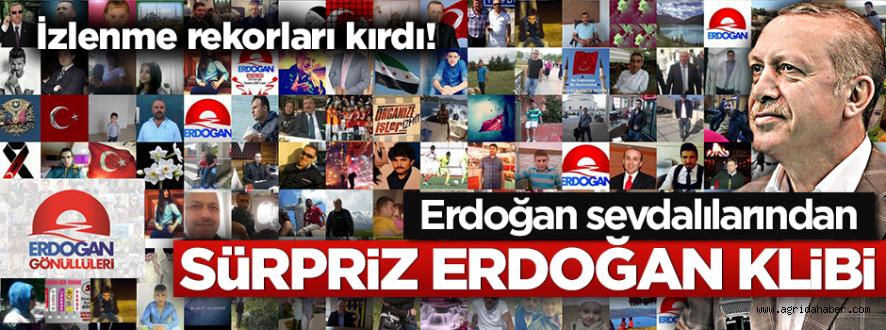 Erdoğana Doğum Günü Süprizi