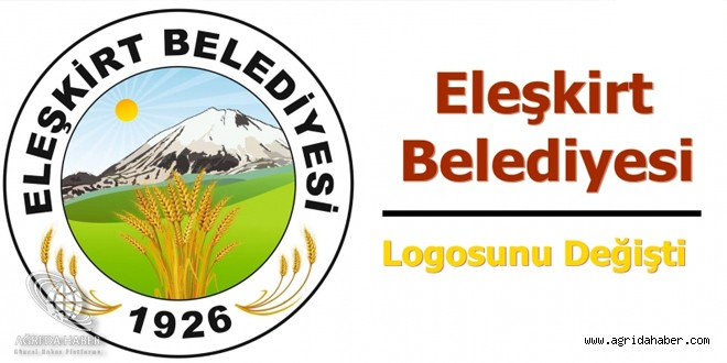 Eleşkirt Belediyesi Logosunu Değişti