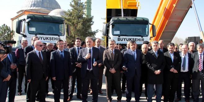 Malatya Büyükşehir Belediyesi araç parkını genişletti