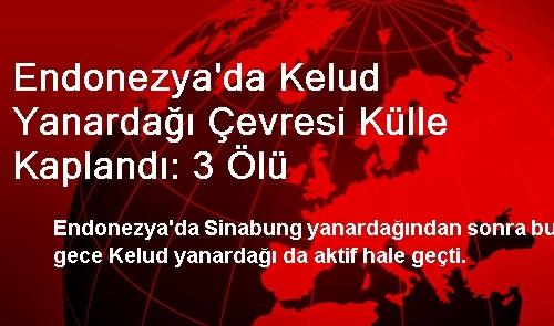 Endonezya'da Kelud Yanardağı Çevresi Külle Kaplandı: 3 Ölü