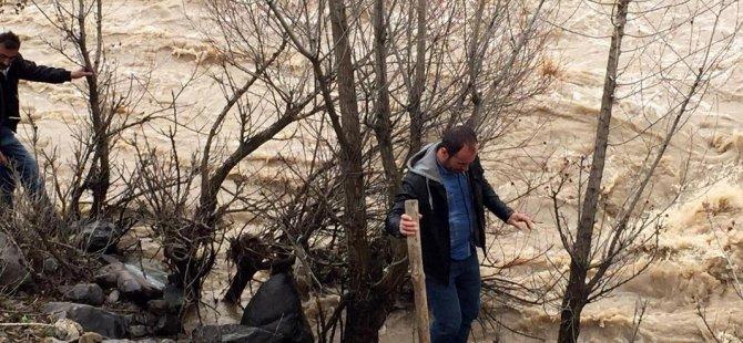 Yedisu'da bir kişinin kaybolduğu iddiası