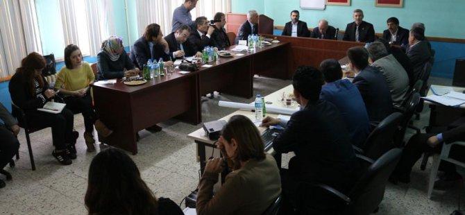 Malatya Büyükşehir Belediyesi yetkililerinden Arapgir'e ziyaret