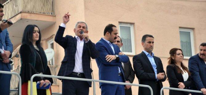HDP Muş milletvekili adayları halka tanıtıldı.
