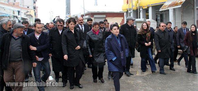 HDP Heyeti Diyadin'de