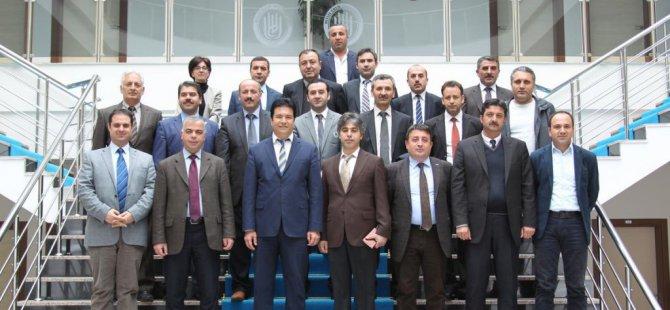 MŞÜ heyetinden, BEÜ Genel Sekreteri Özbay'a ziyaret