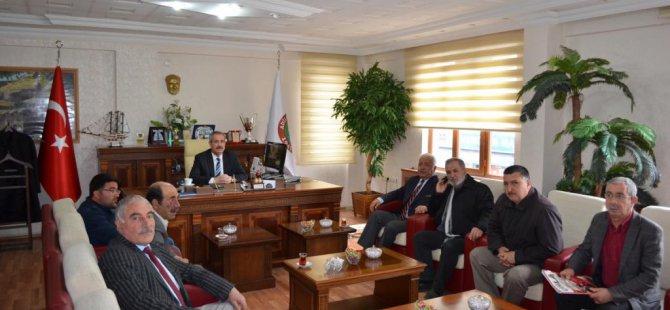 Adilcevaz Belediyespor'a malzeme desteği
