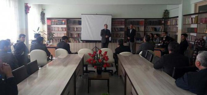 Muş'ta sınıflar arası münazara yarışması