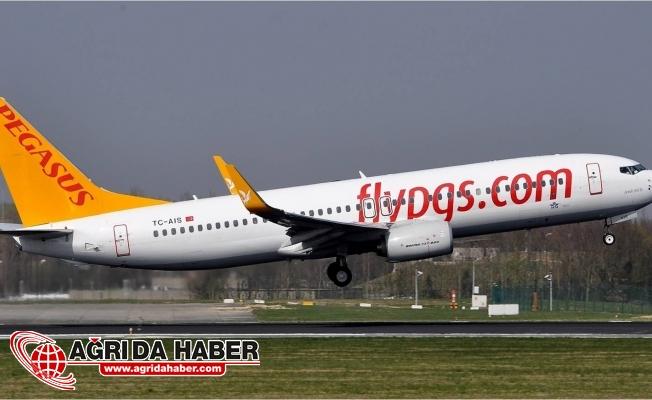 Ağrı-İzmir Uçak Seferlerini Pegasus Hava Yolları Gerçekleştirecek