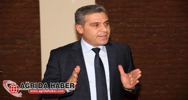 Bursa Ağrılılar Derneği Başkanı Erhan Öztürk Ağrı'da