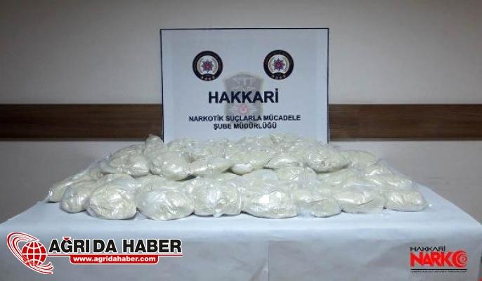Hakkari'de Uyuşturucu Operasyonu: 45 Kilo Eroin Yakalandı!
