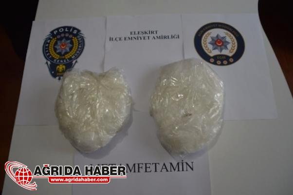 Otobüste Yakalanan Kadının Vücuduna Sarılı 1 Kilo Uyuşturucu Ele Geçirildi