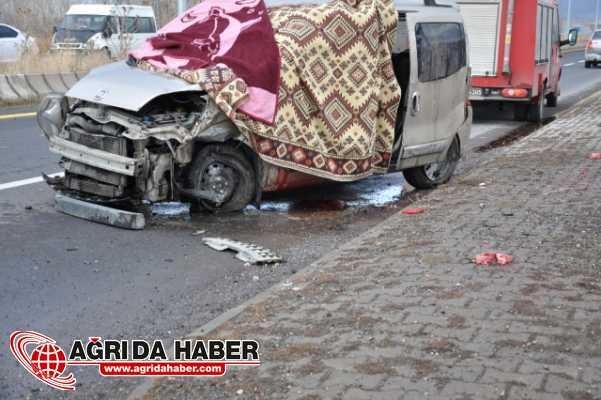 Patnos'ta Trafik Kazası: 1 Ölü