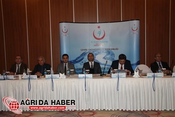 Van'da Su Güvenliği Bölgesel Değerlendirme Toplantısı Yapıldı