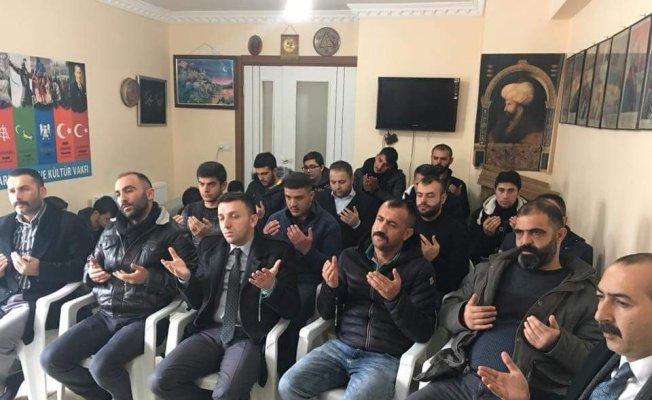Afrin'de ki mehmetçik için dua ettiler