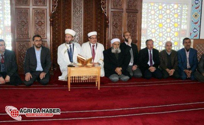 Ağrı'da Kan Davalı iki Aşiret Camide barıştı